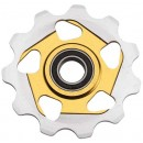 Aerozine Pulleys - Two Tone (Jockey Wheel) - Steel Bearing