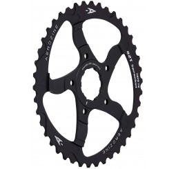 Aerozine 42T Black Sprocket Adaptor