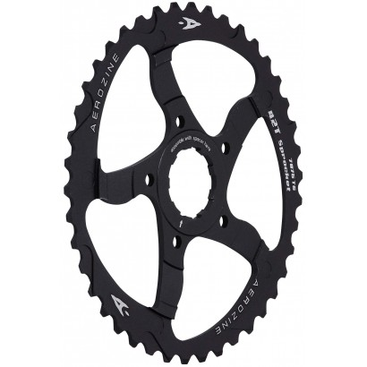 Aerozine 40T Black Sprocket Adaptor