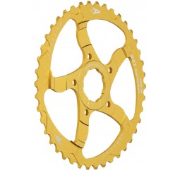 Aerozine 40T Gold Sprocket Adaptor