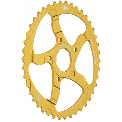 Aerozine 42T Gold Sprocket Adaptor