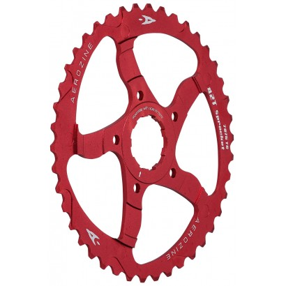 Aerozine 42T Red Sprocket Adaptor