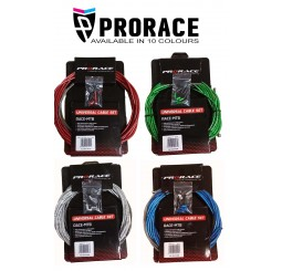 Pro Race Road & MTB Full Brake & Gear Cable Sets (9 Colours)