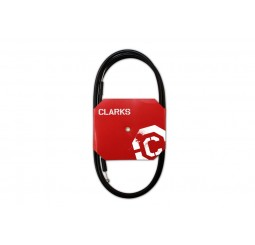 Clarks Universal Stainless Steel Gear Cable With Black Outer Casing
