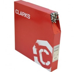 Clarks Galvanised Brake Wire, Barrell Nipple Dispenser Box - 100 Wires