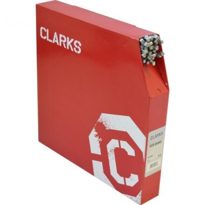 Clarks stainless steel Brake Wire, Pear Nipple Dispenser Box - 100 Wires
