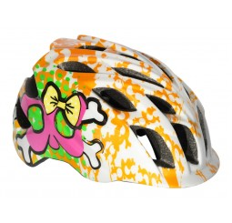 Kali Chakra Child Helmet Orange & Pink (GET 5 FREE ON DESCRIPTION)