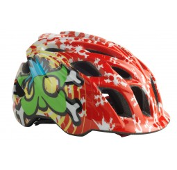 Kali Chakra Child Helmet Red & Green (GET 5 FREE ON DESCRIPTION)