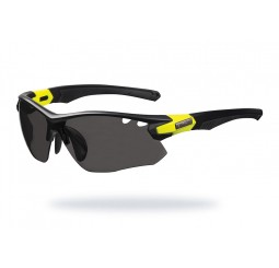 Limar OF 8.5 Matt Black Yellow Interchangeable Sunglasses