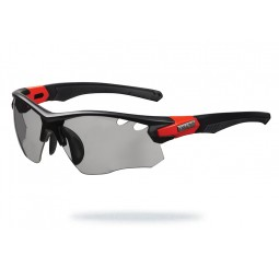 Limar OF 8.5 Matt Black Bright Red Photocromic Sunglasses