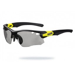 Limar OF 8.5 Matt Black Yellow Photocromic Sunglasses