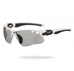 Limar OF 8.5 White Black Photocromic Sunglasses