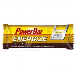 Power Bar Energize Energy Bars 55g - Cookies & Cream - Box of 25