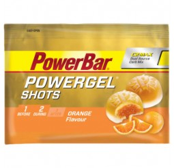 Power Bar Power Gel Shot Sweets 60g - Orange - 16 Bags