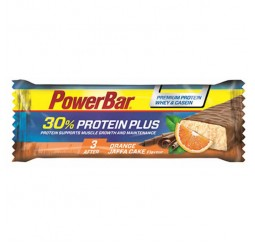 Power Bar Protein Plus 30% - Orange Jaffa Cake- Box of 15
