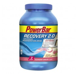 Power Bar Recovery 2.0 Powder 1140g Tub - Raspberry Cooler
