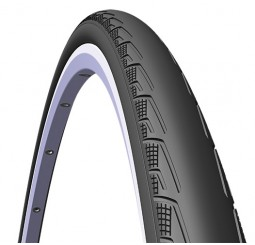 Mitas / Rubena Syrinx Racing Folding Pro Road Tyre Black/Black